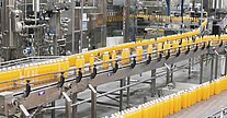 Bottling plant - Safe speed and position monitoring with encoders