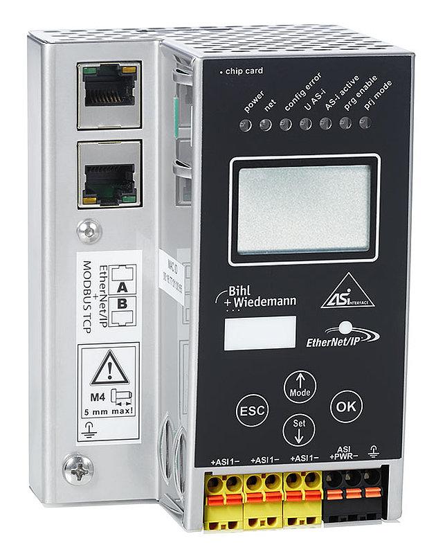 BWU3822 | 24 Volt ASi-3 EtherNet/IP + Modbus TCP Gateway