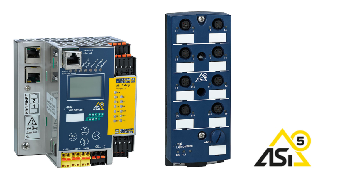 ASi-5 – Higher amount of data and shorter cycle times, available