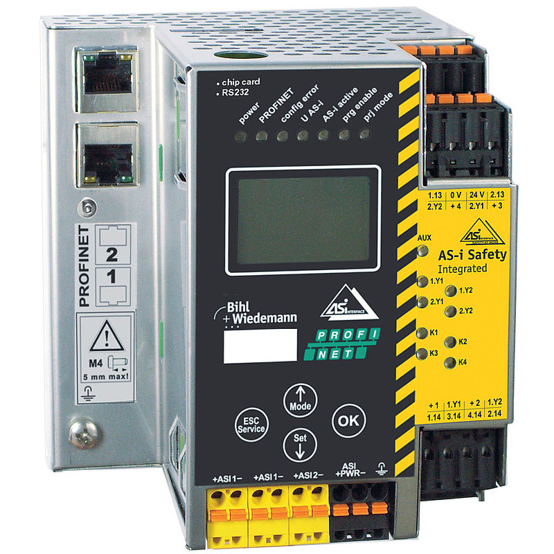 BWU2642 | AS-i 3 0 PROFINET Gateway - Bihl+Wiedemann GmbH