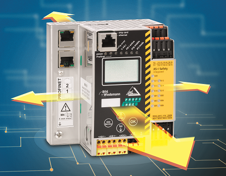 AS-i 3.0 Gateway PROFIsafe über PROFINET mit Safe Link